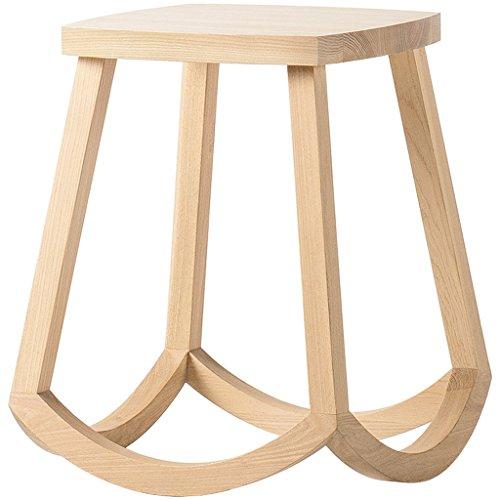 Chaise design personnalisée en bois massif, espace de repos longueur 31cm, largeur 31cm