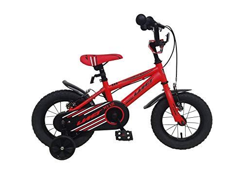 Umit 12' Xt12 Bicicleta Pulgadas Infantil, Unisex niños, roja