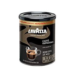 One 8 oz. can of Lavazza Caffe Espresso Italian ground coffee Rich-bodied dark roast with delicious, fragrant flavor and aromatic notes Non-GMO, 100% Arabica Blended and roasted in Italy Best used for espresso but also suitable in any coffee maker