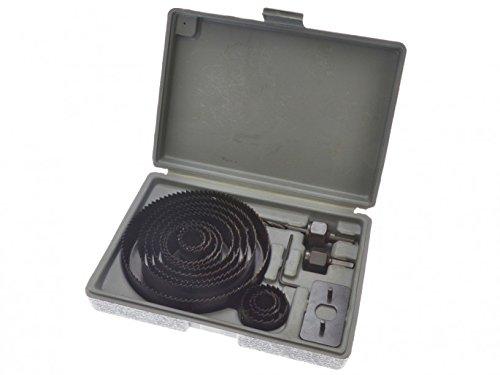 Scie de coupe ronde Bluespot Kit de perçage de 16pc à 127mm, bois, tôle en alliage