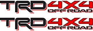 Toyota TRD 4x4 Off Road Compatible with Toyota Tacoma Tundra Sticker Decal 01