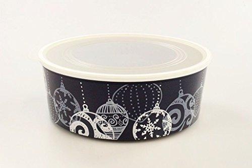 Tupperware Galletero Click de 1,5 L Azul Oscuro-Blanco Bola de Navidad 35474