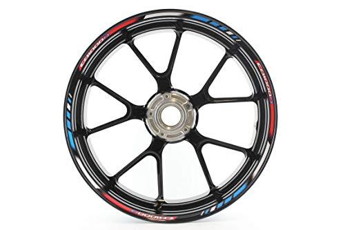 Motocicleta Moto Llanta Inner Rim Tape Decal Pegatinas para Honda CB 1000...