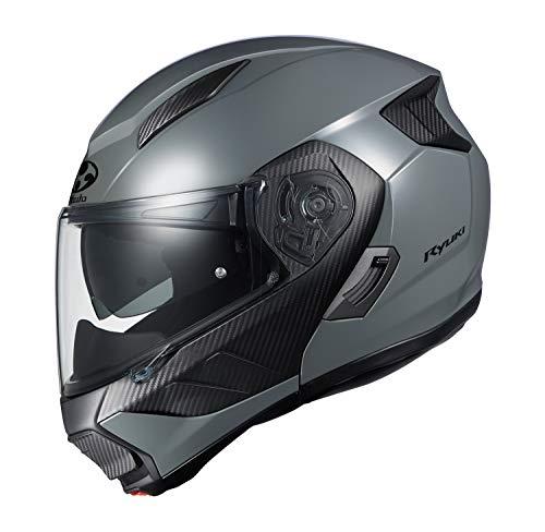 OGK KABUTO Motorcycle Helmet System RYUKI Medium Gray (Size: M)