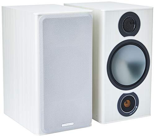 Monitor Audio Bronze 2 Regallautsprecher, Farbe: Weiß , 1 Paar