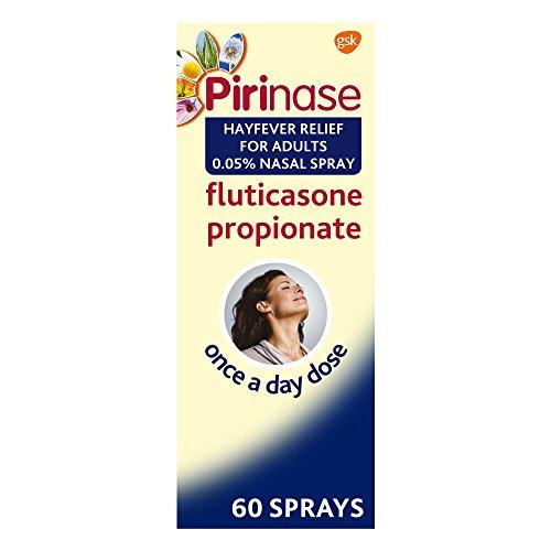 Pirinase Hayfever Relief Nasal Spray for Adults 60 Sprays
