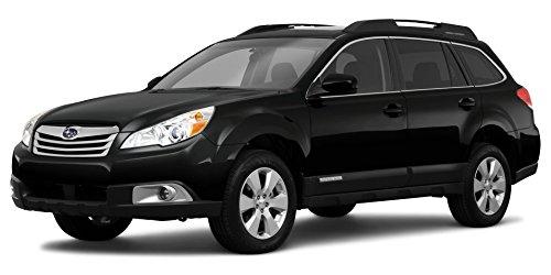 2010 Subaru Outback Premium Power Moonroof, 4-Door Wagon 4-Cylinder Manual Transmission 2.5i, Crystal Black Silica