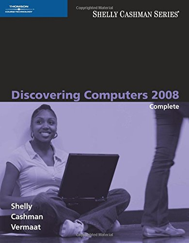Discovering Computers 2008: Complete (Available Titles...