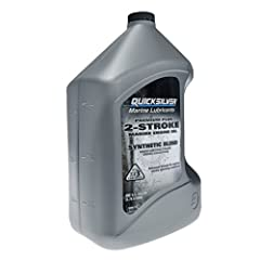 Advanced Quicksilver formulation provides superior lubrication to maintain peak performance for all 2-cycle outboards, PWC's and small engines Produced to meet Mercury Marine original equipment manufacturer specifications to best protect your Mercury...