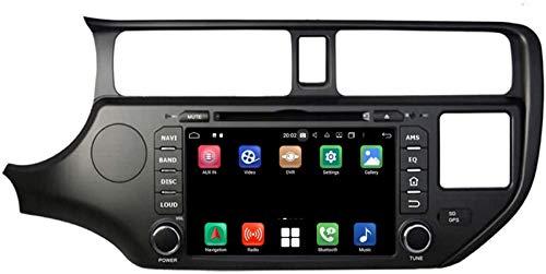 Navigazione GPS per auto con sistema operativo Android 10.0 compatibile con Kia K3 / Rio (2011-2014), 4 GB di RAM + 64 GB di ROM, lettore DVD touchscreen da 7 pollici Radio Bluetooth Head Unit