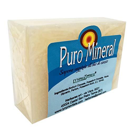 Natuurlijke zeep - Pure plantaardige kaliumkristalzeep - Anti-geurzeep voor handen en lichaam met pijnstillende essentiële oliën - Handgemaakte Italiaanse zeep