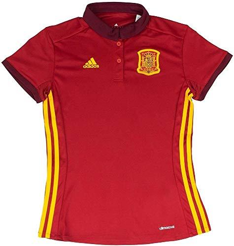adidas Fef H JSY We Camiseta de equipación-Línea Selección Española de Fútbol, Mujer, Rojo (Rojpot), L