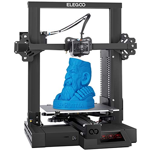 ELEGOO NEPTUNE 2 FDM 3D Printer with Silent Motherboard, Safety Power Supply,Resume Printing and Removable Build Plate with 220x220x250mm Printing Size