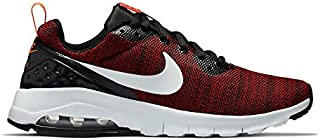 Nike Air Max Motion Low Big Kids Style- 917650-004 Size- 6.5, Black/White/University Red