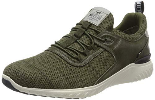 MUSTANG Herren 4132-305-700 Sneaker, Grün (Dunkelgrün 700), 42 EU