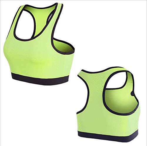 YXYBABA Naadloze sport bh dames professionele fitness naadloos ondergoed zonder velgen slaap schokbestendig yoga vest
