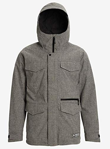 Burton Heren Snowboard Jas M Covert Jacket Slim Bog Heather L