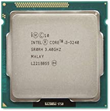 Intel i3 3rd Generation Processor (i3 3240 3.4 Ghz) for LGA 1155 Socket Excellent Performance Processor (Silver)