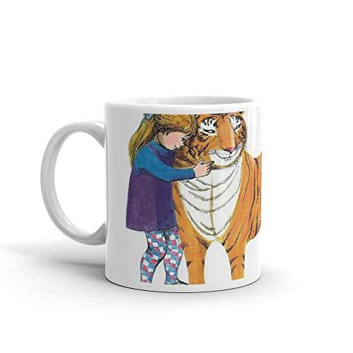 N\A El Tigre Que Vino a Tomar el té. Tazas de 11 onzas Hechas de cerámica Duradera con un Mango de fácil Agarre.Esta Taza de café Tiene una sensación Fuerte Pero clásica