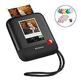 """Foto Polaroid POP 2.0 – Fotocamera digitale a stampa istantanea, con display touchscreen da 3,97"""", Wi-Fi integrato, video HD da 1080p, tecnologia zero inchiostro Zink e nuova app, nero"""