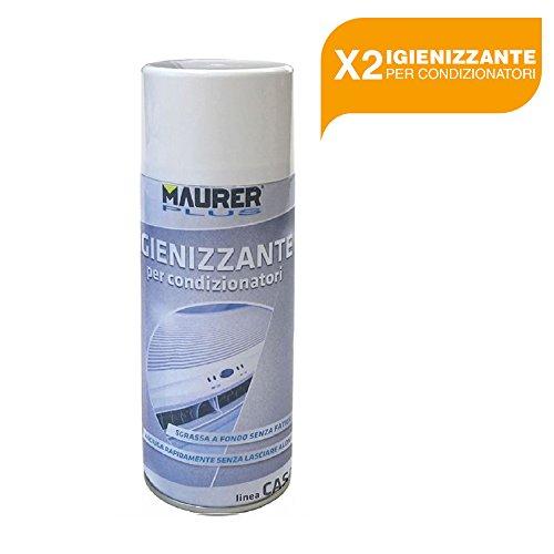 BuyStar MAURER Igienizzante Spray per Condizionatori 400 ml Maurer Plus 2 PEZZI