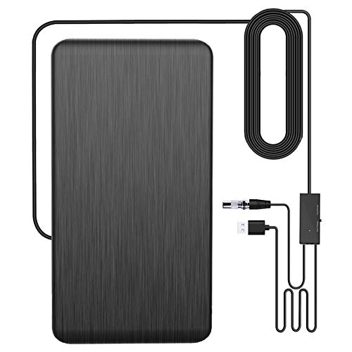 HD TV Antenna Indoor 200+ Miles, [2021 Latest] Ourdoor Digtal Amplified HDTV Antenna, 4K Local Channel Antenna for Smart TV