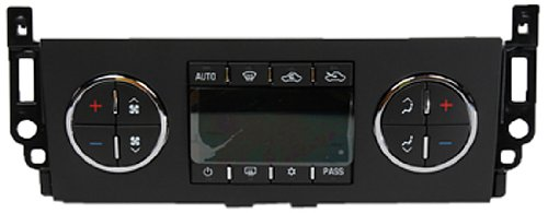 ACDelco 15-74025 GM Original Equipment Heating and Air Conditioning Control Panel with Rear Window Defogger Switch