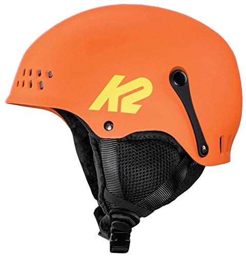 K2 Skis Damen Entity orange Skihelm, S