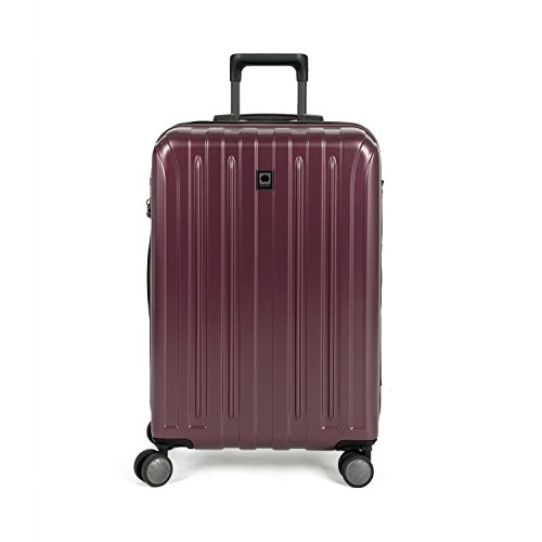 Delsey Luggage Helium Titanium 25 Inch EXP Spinner Trolley, Silver, One Size