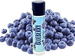 product image for Lick 'er Lips Lip Balm | Moisturizing Beeswax Cocoa Shea Butter Jojoba Hemp Avocado Castor Oil with Vitamin E | 1 Tube (4g) (Blueberry)