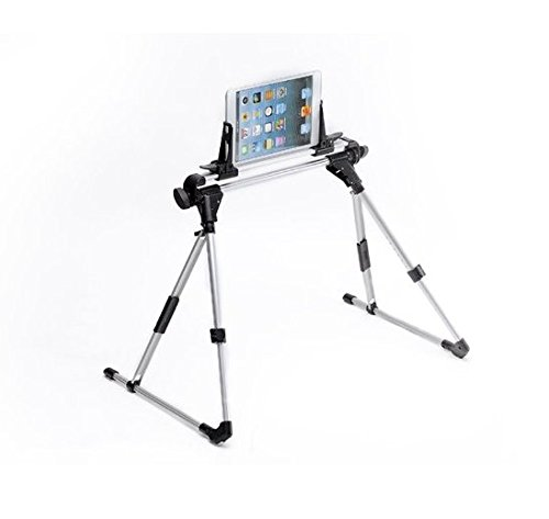 AFUNTA Supporto Universale per Cellulare Tablet, Universale Pieghevole Supporto per Tablet, Stand Holder Portatile per iPad 1 2 3 4 5 Air iPhone Samsung Galaxy Tab sul Letto Sofa Floor Outdoor
