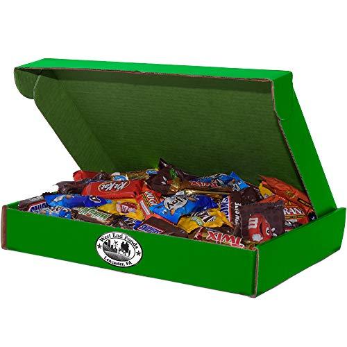 80 oz Assorted Milk Chocolate Candy, 13x10x2 Green Box