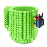 Taza De Café, Copa De Champán, Taza Taza Creativa De 350 Ml Taza De Café Taza De Ladrillo Incorporada Creativa Tazas Soporte De Agua Potable Para Diseño De Bloques De Construcción Lego, 05