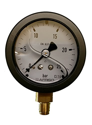 Manometer Glyzerin 1/8