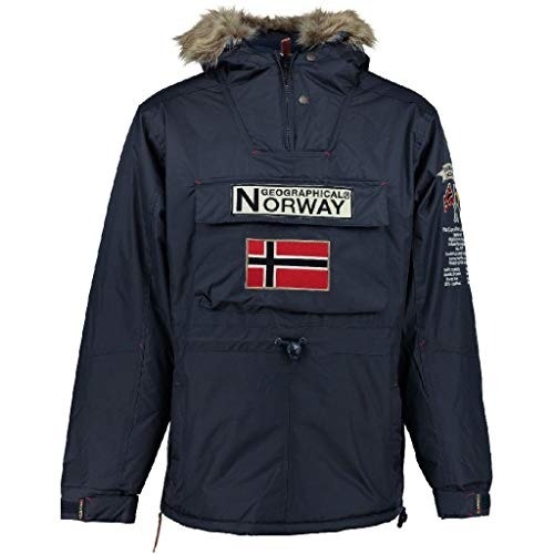 Geographical Norway Parka Hombre Boomerang Azul Marino L