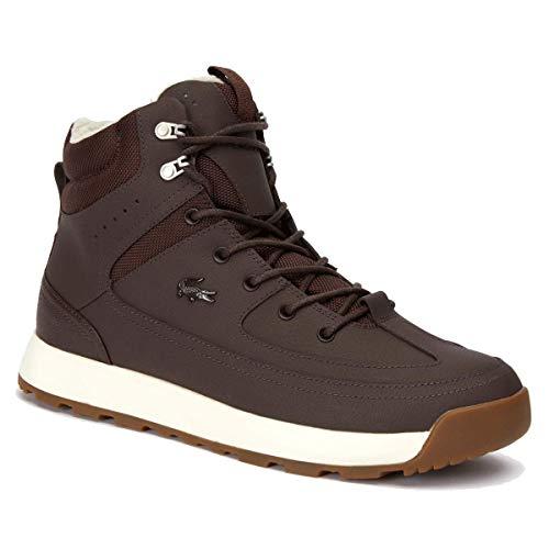 Lacoste URBAN Breaker 419 1 Schuhe DK BRW/Off WHT