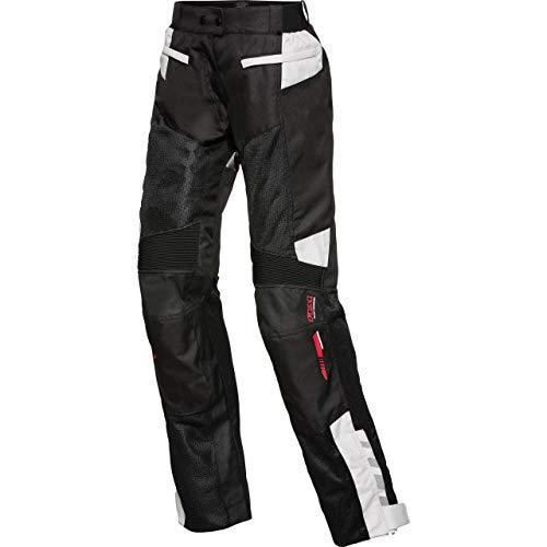 FLM Motorradhose Sommer Sports Damen Textilhose 6.0 schwarz XL, Sportler