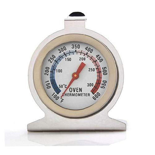 Inicio Alimentos Carne Dial Acero Inoxidable Horno Temperatura del termómetro Gauge Regalos Felices de Calidad Alta de Acero Inoxidable