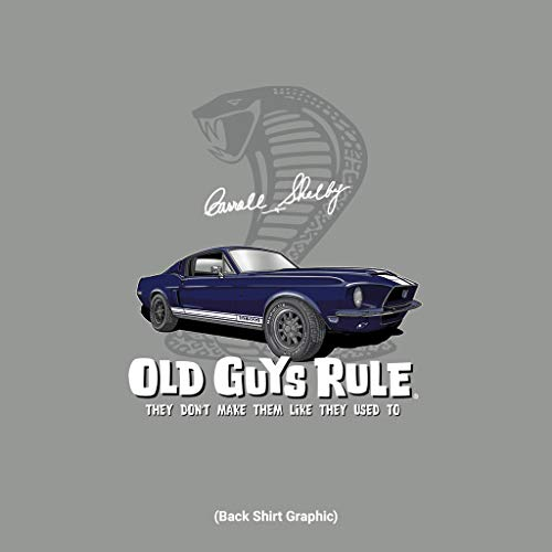 OLD GUYS RULE Men's Shelby GT500 T-Shirt (Medium)