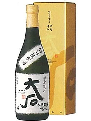 大石 樽熟成 米焼酎 箱付き 25度 720ml