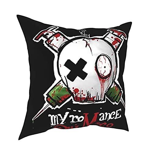 Nicegift Pinterest Kissenbezüge für Sofa, Couch, Stuhl, quadratisch, dekorative Kissenbezüge für Schlafzimmer, Wohnzimmer, 40,6 x 40,6 cm