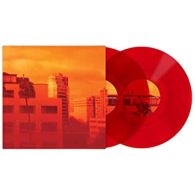 Serato Control Vinyl scv-gl-cle-10 red