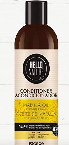 Hello Nature Hello Nature Marula Oil Conditioner (Acondicionador De Aceite De Marula) 300 Ml 300 ml