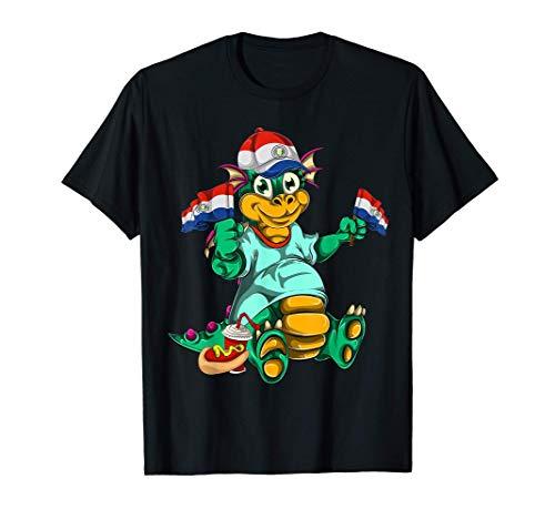 Drache Geschenk Kinder Trikot Paraguay T-Shirt