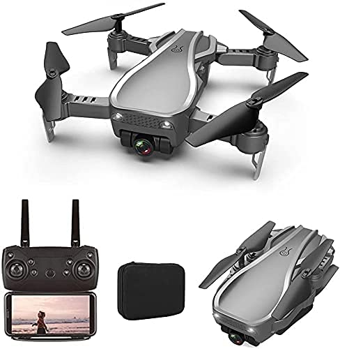 JJDSN GPS Drone with Dual Camera 4K HD, 5G WiFi FPV Foldable RC Drone, Optical Flow Positioning, 90deg; ESC Anti-Shake Camera, 50X Zoom for Kids Adults 2 Batteries