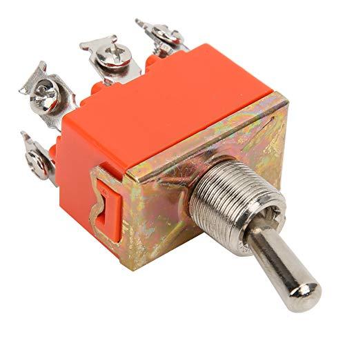Weikeya Mini Interruptor de Palanca en el Interruptor de Control de la Soldadura de la Soldadura 15A 250V de plástico y Metal