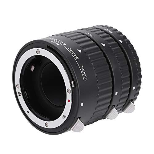 Topiky N-AF Auto Focusing Close-Up Lente de extensión de Macro Adaptador de Tubos Juego de Anillos 12 mm + 20 mm + 36 mm para Nikon F Mount DSLR(N-AF1-B)