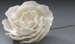 Briar Rose White Wedding in Gum Paste Cake Decoration