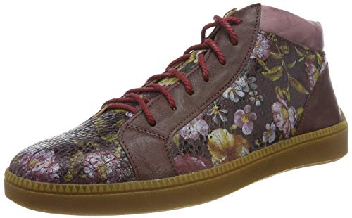 Think! Damen TURNA_585047 Hohe Sneaker, Mehrfarbig (Chianti/Kombi 35), 40 EU