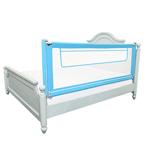 Best Deals! Z-SEAT Bed Rail with Storage Bag, Extra Long Mesh Crib Rail for Toddlers, Vertical Lifti...